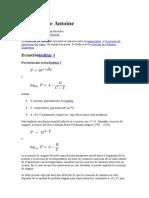 Ecuación de Antoine