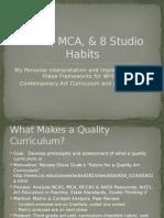 my interp of the art curr frameworks