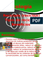 Ecología Reciclado