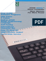 Atari 800XL Sales Brochure