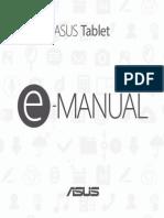 Manual Asus Tablet