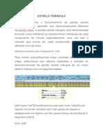 Cálculo de Componentes Para Partida