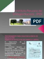 El Instituto Peruano de Energía Nuclear - IPEN 2012