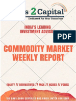 Commodity Report Ways2Capital 09 June 2015