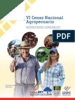 01. VI Censo Nacional Agropecuario, Resultados Gesnerales