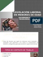 Legislación laboral en menores de edad.pptx