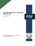 Five-Year Information Technology Strategic Plan