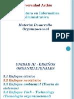 Desarrollo Organizacional-Unidad III