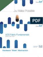 2013 Anz PDF BRKCOM-1001 - UCS Fabric Fundamentals