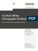 11.18.13 Get Rich Off the Demographic Dividend King