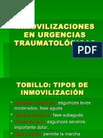 Inmovilizaciones en Urgencias Traumatolc3b3gicas