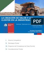 Creacion de Valor y Cluster Ind Minera - D. Fuenzalida - Min Mineria
