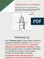 50 Ans d'Anthropologie Judiciaire a Lyon 1959 2011