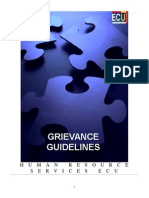 Grievance Guidelines