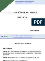 Calibración de Balanzas-OIML