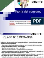 03 - Unidad 02 - Teoría Del Consumo - Demanda