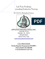 CEU Endocrine Testing