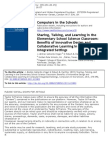 Collaborative Learning in Computer