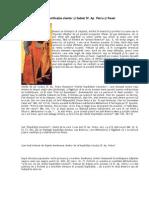 Semnificaţia cheilor şi Sabiei Sf. Ap. Petru şi Pavel