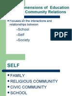 Social Dimensions of Education