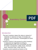 Inventory Control