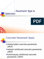 Rigid Pavement Overview_Concrete Type