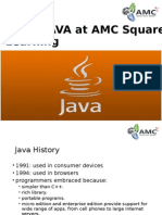 learn java at AMC Square learning