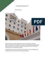Hotel Phoenicia Grand Bucuresti - Informatii Si Contact