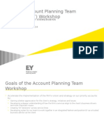 Account Planning Team Workshop Slides