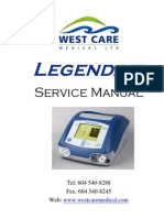 Airox Legendair Ventilator - Service Manual
