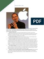 Liderazgo por Steve Jobs
