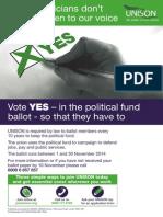 Political Fund UNISON