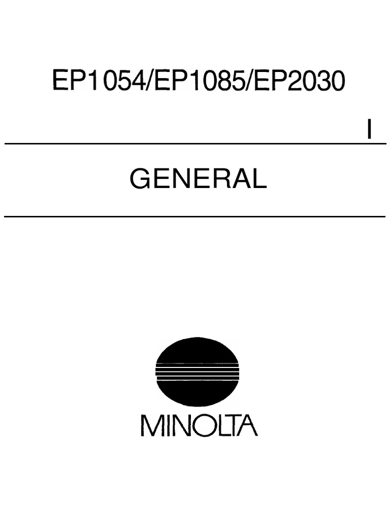 konica minolta ep 1054 1085 2030 service manual ac power plugs and rh scribd com minolta ep 1054 service manual download free