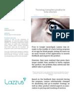 Google Launchpad Lazzus
