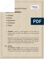 Anemia & Its Forms