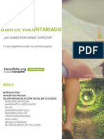 Guía de Voluntariado Hacesfalta.org