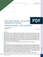 Great Circle Calculation