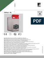 GN2 N Manual Tecnico Ferroli