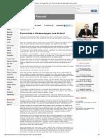Infonet - Domingos Pascoal - É Permitida a Ultrapassagem Pela Direita