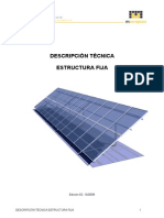 Descripcion Tecnica Estructura Solar