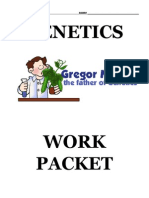 Answer Key Genetics Workpacket