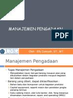 7_Manajemen Pengadaan