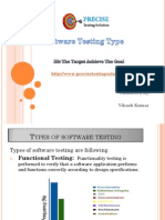 Software Testing Type