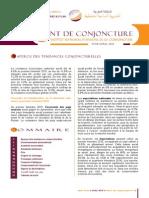 Point de Conjoncture  N° 28  - Avril 2015