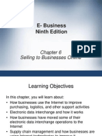 Ch06. Selling to Businesses Online