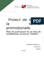 Adidas Proiect-tehnici Promotionale Final