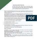 Risk Management Process Pallav