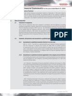 22 Notes to the Financial Statements