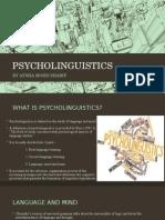 Psy Co Linguistics, ESP, second language acquisition, ESP, Applied linguistics