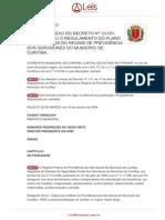 Decreto Municipal de Curitiba n. 953